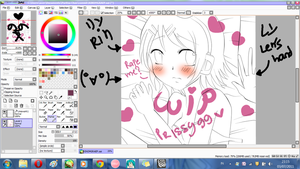 WIP.Rin Kagamine 8D by Prissy99