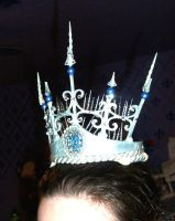 Ice Queen..unfinished Crown by ViolinGoddess