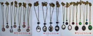 Cameos: Handmade, Horror and Anatomical by TheLovelyBoutique
