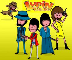Lupin the 3rd by hyperboy