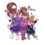 The Chipettes by Dilarus