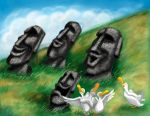 The Singing Moai by clarenceyao