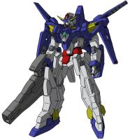 AGE-3 Gundam AGE-3 Normal by unoservix