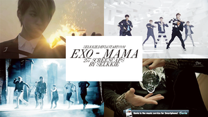 EXO - MAMA - 277 Screencaps by selkkie