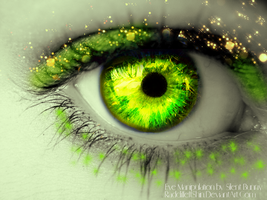 Green eye by RadcliffeftShin