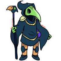 Plague Knight by TOBI707