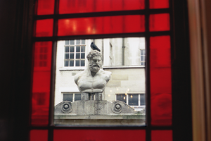 Window View at Sir John Soane House, London by vanfoto