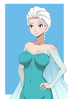 Elsa by AmonZone