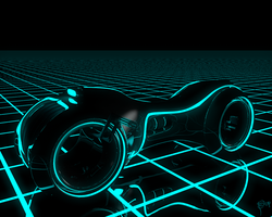 Tron Light Cycle by Ludez