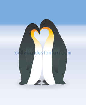 Penguins Love by cellebg