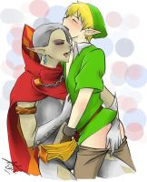 commission -Link and Ghirahim by Yaoi-Master-Forever