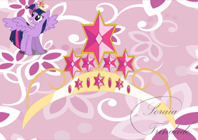 Twilight Sparkle's New Crown by Lady-Scorpion