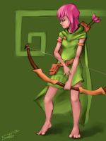 Clash of Clans: Archer by TunnelRunner