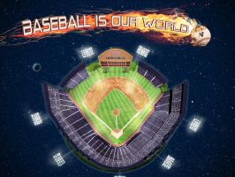 Baseball is our world by Neempop