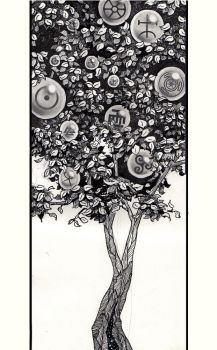 The Tree of Symbols by Vale-n-Tina