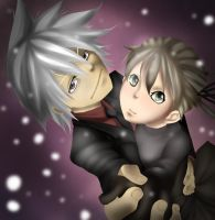 Soul and Maka by MisakiboysloveS7