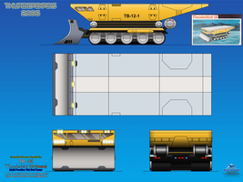 Thunderbird 12 (TB-12) Multi Purpose Bulldozer by haryopanji