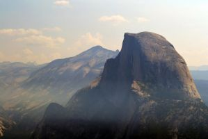 Half Dome, Yosemite National Park by BluEyezDigital