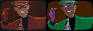 Vurtual Riddler Comparisson by ArachFinne