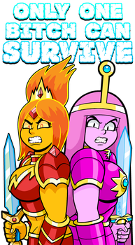 Ultimate Princess Bitch Duel by curtsibling