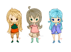 Pixel Adopts .:CLOSED:. by HappenHappy