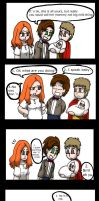 Spoilers: Doctor Who comic by Mahgy