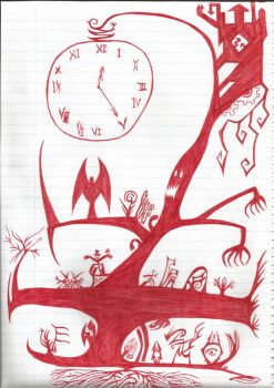 The Clock by frooster