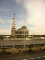 Mosque in Thailand II by Olivares