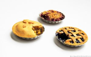 Apple Pie, Blueberry Pie, Cherry Crisp by Bon-AppetEats