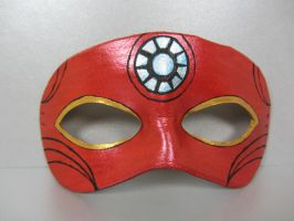 Avengers mask - Iron Man by maskedzone