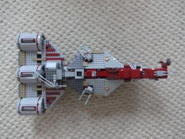 Lego Star Wars Republic Frigate by andyjshi