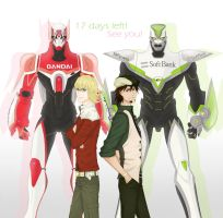 Tiger and Bunny countdown by kuronyx