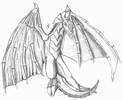 Wyvern - metaharpy tradeart by Infernal-Mercy