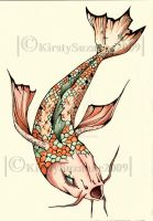Koi-Coloured by KirstySuzanne