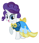 Rarity being Fancy-no effect by linksfanponies