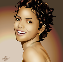 Halle Berry by Ayce104