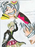 Soul Eater Art Trade. by teaylor