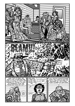 Buddy BoDue Psychic Detective page 2 by exspasticcomics
