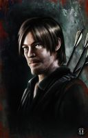 Daryl Dixon by AngeloQuintero