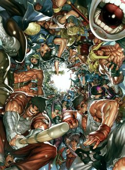 UDON's Art of Capcom 2 Cover by NgBoy
