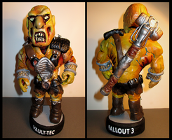 Fallout: Super Mutant Bobble Head. by APlaceForStuff