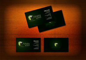 Business card attempt by Nas-wd