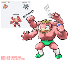 Pokemon Fusion 6 - SLOWCHAMP