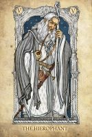 Tarot: The Hierophant by SceithAilm