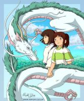 Spirited Away by Artoki