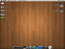 Mac OS X Wood by feliipetaumaturgo