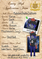 EntityHigh Application: Madeline Williams by WhatTheFoxBecca