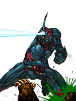 The guyver by strifehell