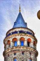 Galata Tower Istanbul tonemapped by artamusica