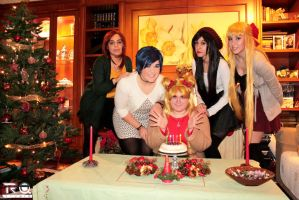 Sailor Moon - Christmas party! by CherryMemories